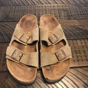 Birkenstock Arizona sandals/size 45 (12-12.5)